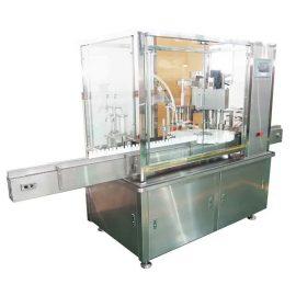 מכונת מילוי והכנת בקבוק נוזל אלקטרוני 10 ml-100ml עם משאבת בוכנה