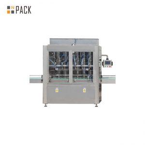 מכונה מילוי בקבוק כוח משיכה 10 ראשים לבקרת PLC למנקה 1 - 5L אקונומיקה