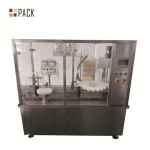 מכונת מילוי קרם יעילה / מכונת מילוי בקבוקים קוסמטיים אוטומטיים