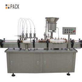 מכונת מילוי והכסת בושם ואקום 5-100ML קיבולת גדולה עם שסתום שסתום