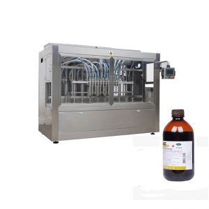 רפואה וטרינרית קו מילוי בקבוקי נוזלים / קו מכונת מילוי נוזלים מאכלים
