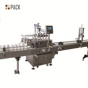 קו מילוי נוזלים אוטומטי 6.5 קילוואט כוח 20 - 50 בקבוקים / קיבולת דקה