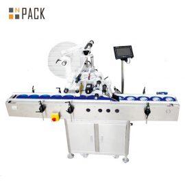 מכונת תיוג דבק עצמי מטוס חשמלי, מכונת תיוג קרטון / פחית / תיק