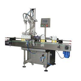 מכונת מילוי נוזלית דו ראשית מילוי נוזלי 0.5-2L