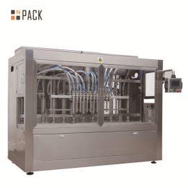 קצף גבוה מכונת מילוי נוזלים אוטומטית ליניארי סוג 12 ראשים לבקבוק PET
