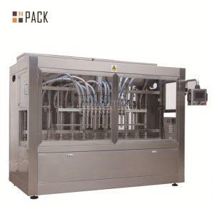"""מכונת מילוי נוזלים אוטומטית בעלת 12 ראשים בעלי כוח גבוה עבור 500 מ""""ל - דשן 5L"""