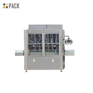 מכונת מילוי בקבוק נוזל אלקטרוני 10 ml-100ml וקווי אריזה עם משאבת בוכנה