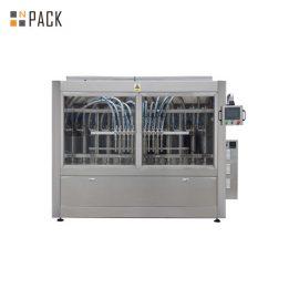 מכונת מילוי הדבק אוטומטית לבקרת בקרת PLC לסבון / קרם / שמפו נוזלי 250ML-5L