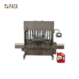 מכונת מילוי שמן סיכה דיוק גבוהה 8 חרירים לתעשייה מכנית