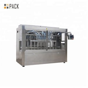 מכונת מילוי נוזלים אוטומטית נגד קורוזיב לחומר חיטוי 84 חזק