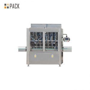 מכונת מילוי נוזלים וחומרי הדברה 250ML-5L קו יציב אנטי קורוזיבי