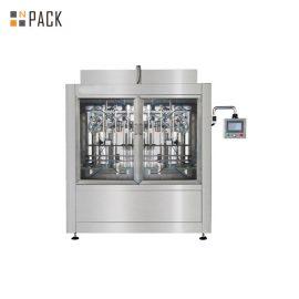 מכונת מילוי דבק יציבה לבקרת בקרת PLC דיוק גבוה לצמיגות גבוהה