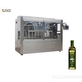 מכונת מילוי קוקוס / שמן זית ביעילות גבוהה ללא דליפה עם מילוי סרוו