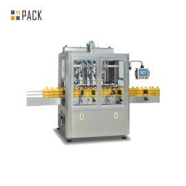מכונת מילוי נוזלים אוטומטית לתעשיות קוסמטיקה / מזון