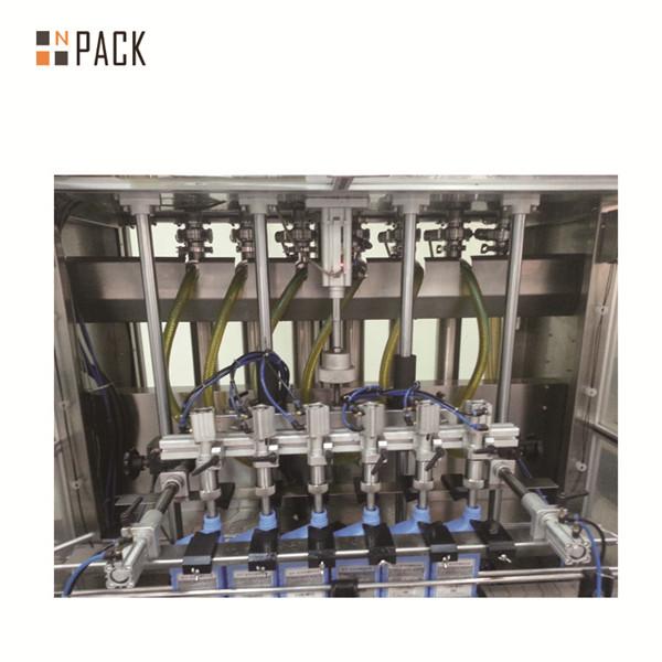 מכונת מילוי נוזלית למילוי בקבוקים הדבקת קרם פנאומטי