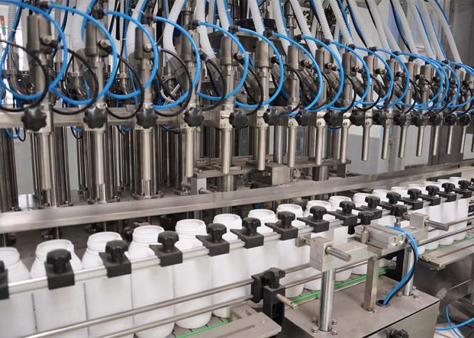 בקרת קו מכונת מילוי כביסה של בקרת PLC ביעילות ייצור גבוהה