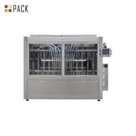 מכונת מילוי נוזלית אוטומטית בעלת צמיגות גבוהה מכונת מילוי נוזלית חמה