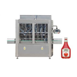 הדבק צמיגות אוטומטית מכונת דבש רוטב עגבניות שמן הדבש מכונת מילוי נוזלית