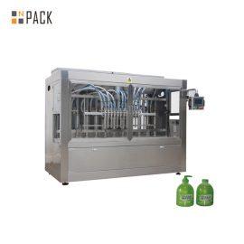 קו מילוי מדיח כלים ליניארי 1L קו מילוי בקבוק עם מכונת Unscrambler בקבוק