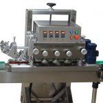 מכסה מכסת מכסה לבקבוק ראשים אחד / ROPP אלומיניום מכסה לחיצה מכונה