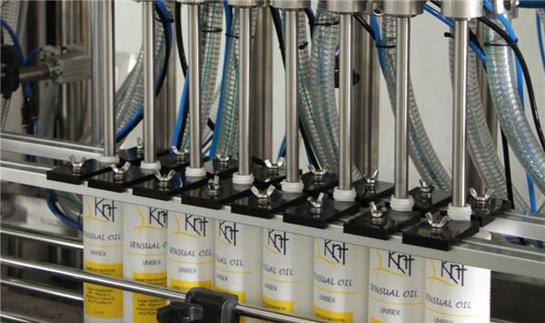 מכונת מילוי בקבוק ג'ל רחצה נוזלי אוטומטית